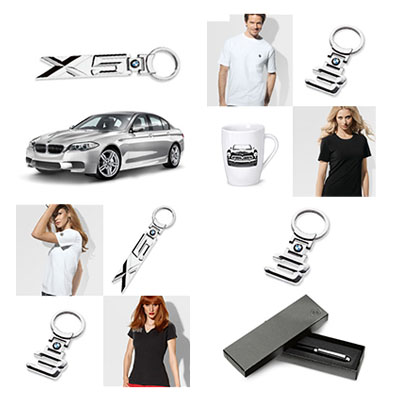 BMW-BRANDED ITEMS GIFT PACK