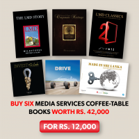 MEDIA SERVICES COFFEE-TABLE BOOK GIFT PACK