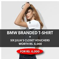 BMW BRANDED T-SHIRT_WHITE (FEMALE, SIZE 'XS')_Mar18