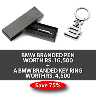 BMW BRANDED PEN AND BMW BRANDED KEY RING