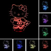 HELLO KITTY LED 3D NIGHT LAMP