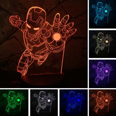 IRONMAN LED 3D NIGHT LAMP