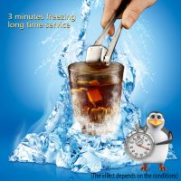 STAINLESS STEEL ICE CUBES – REUSABLE STONES