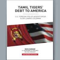 BOOK-TAMIL TIGERS DEBT TO AMERICA