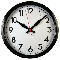 SINGER METAL WALL CLOCK_2