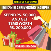 LMD 25TH ANNIVERSARY HAMPER