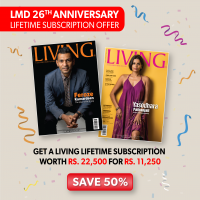 LIVING LIFETIME SUBSCRIPTION OFFER – PRINT