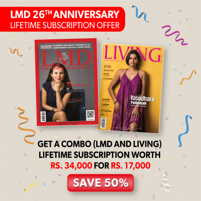 LMD AND LIVING LIFETIME SUBSCRIPTION OFFER – PRINT
